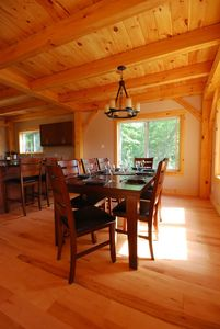Photo for Labrador Lodge - Luxury Timber Frame Cottage