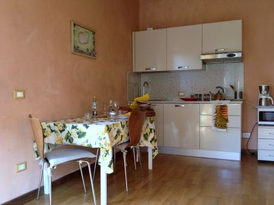 Photo for Cosy apartment in Lucca, very close to historic center end the walls. Parking, Garden..