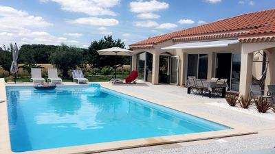 Photo for Beautiful villa near Toulouse with views of the Pyrenees