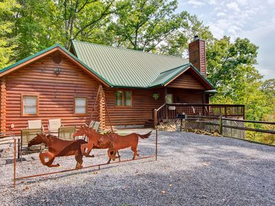 Photo for Unbridled Memories Luxury Log Cabin