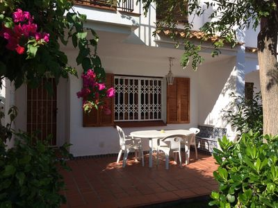 Photo for 3 bedroom house with garden and near to pool & sandy beach. Sleeps 8.