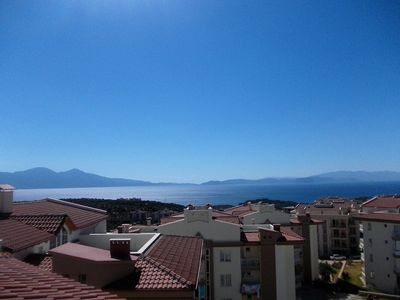 Photo for Lovely 4/5 bedroom penthouse apartment in hills 5 minutes from Kusadasi Centrum.