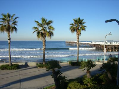 Photo for BEACHES ARE FULLY OPEN! STUNNING 2 BR OCEANFRONT CONDO W/OCEAN AND BEACH VIEWS!