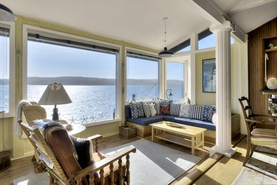 Giant windows to take in the awesome views