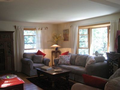 Photo for Elegant and roomy n Wellfleet woods - quiet; near pond, beach, bay and town