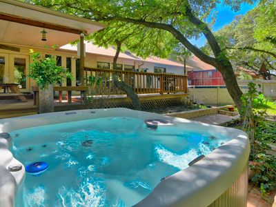 Photo for FREE Cancellation, 8 FOOT AIR HOCKEY TABLE, BMT Discount 3B,Private Pool\Jacuzzi