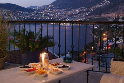 Our terrace is the perfect place for entertaining, with that incredible view!