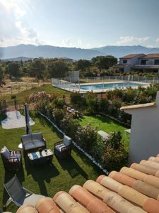 Photo for Mini villa with pool 500m from the Bay of Saint Cyprien Porto-Vecchio