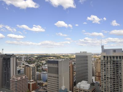 Photo for SYD4606PITT - ONE BEDROOM PAT WITH BALCONY AND PARKING IN THE HEART OF THE CBD