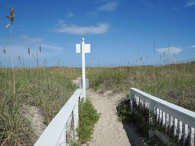 Photo for Ocean and waterway views with pool, tennis, and easy beach access in Spinnaker Point