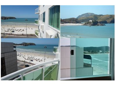 Photo for 2 Bedrooms (1 suite) in Cabo Frio Forte´s Beach