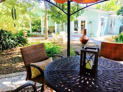 Photo for Boutique Dunedin Cottage on  Pinellas Bike Trail w Honeymoon Island Beach Pass!