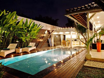 Photo for Serenity Private Pool Villa 3 Bedrooms Near KuDeta Beach