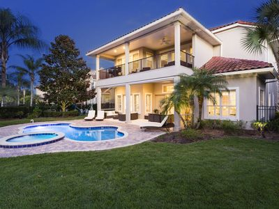 Photo for Newly Furnished Luxury Pool Home! Cinema, Pool Table - Close to Disney!