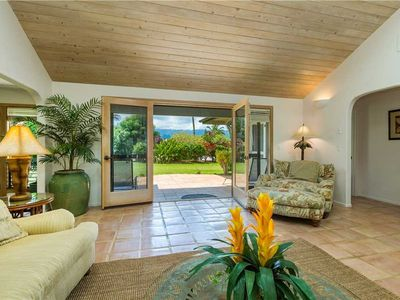 Photo for Spacious air-conditioned home within one of Princeville's most prestigious communities