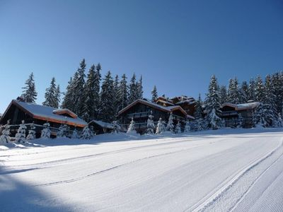 Photo for Modern, warm and luxurious ski in ski out chalet