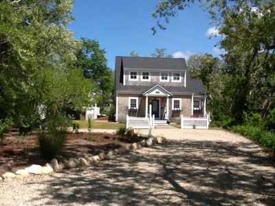 Photo for Charming new  two storied cottage sitting just  off Cape Cod Bay.