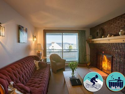 Photo for Ski on/ski off Condo with pool, hot tub & fitness center