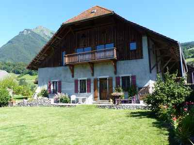 Photo for Beautiful 4 * Cottage in Savoyard House. Terraces and park in the South.