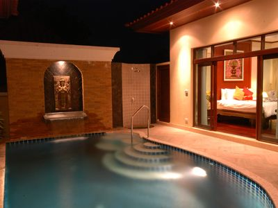 Photo for Les Palmares Villas - 1 Bedroom Private Pool Villa - ROOM ONLY