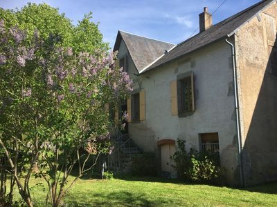 Photo for Lovely, spacious holiday home with garden, in the heart of the Morvan region