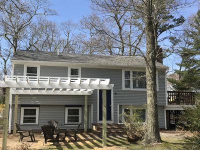 Photo for Renovated in 2019,  4 Bed, Walk to pvt assoc. beach!