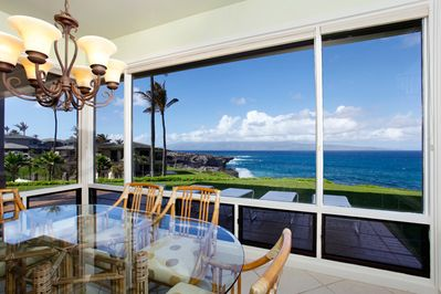 Unobstructed views of the ocean from all the rooms