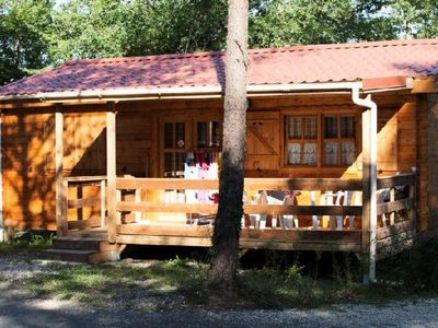 Photo for Camping La Garenne *** - Chalet Les Bleuets 3 Rooms 5 Persons