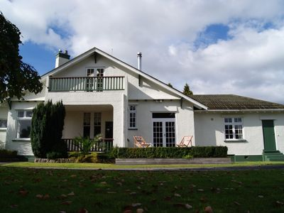 Photo for The Manor- Spacious and Secluded Character Home