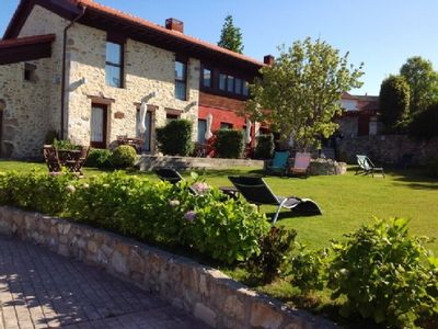 Photo for Rural apartment El Hospital de Villahormes for 2 people