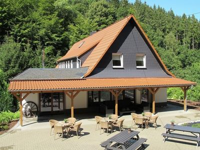 Photo for Luxurious country-style villa with cinema and billiards table in the Westerwald