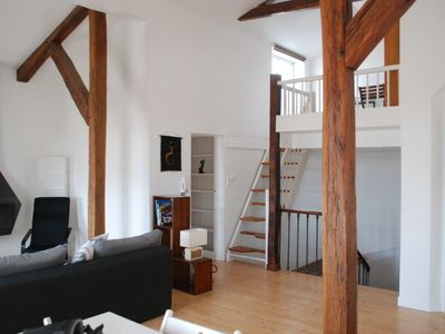 Photo for Apartment with terrace historic center of La Rochelle