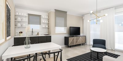 Photo for Deluxe Two-Bedroom Apartment in City Center with Pool