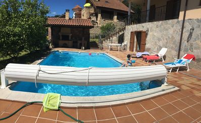 Photo for Laredo Treto Colindres: swimming pool. barbecue. Free WIFI.