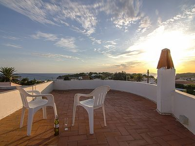 Photo for Villa Fleur, Cala N Porter, quiet location with a private pool and sea views.