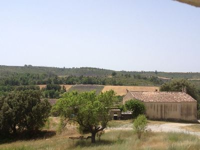 Photo for House with magnificent views of the Provencal hills, surrounded by three lakes
