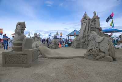 Annual Sandcastle Competition.