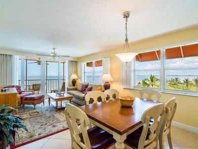 Photo for Luxury Double Balcony End Unit! Beachfront Condo with Heated Pool! Excellent Location