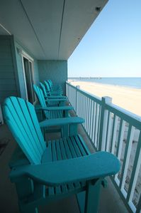 Photo for Enjoy Spectacular Sunrises, Oceanfront Relaxation and OBX Fun in style at The Paisley Marlin!