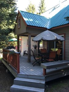 Photo for Cozy, Updated Cabin in Evergreens w/ Sunshine, Fire Pit, Great Furniture & Beds