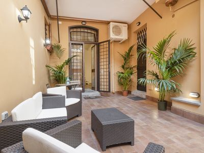 Photo for Awesome duplex apartment close to Campo de Fiori