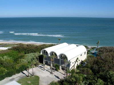 Beautiful ocean views/beach - Each barreled roof top here is a private residence