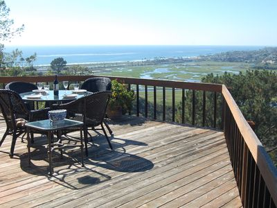 Photo for Unique Hillside Retreat.  Unobstructed views of North San Diego Surf