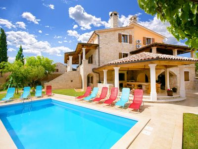 Photo for Spacious and private old restored villa w/pool