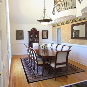 10 chair dining room table