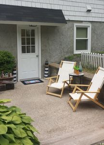 Photo for Flip - Flop Apt -One level family & pet friendly 7 minute walk to Long Sands!