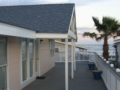 Photo for Awesome Beach Views on 3 Sides of Huge Deck