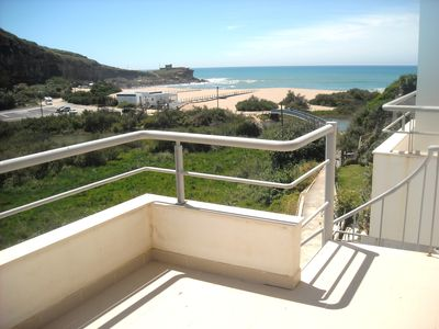 Photo for Ericeira - T2/T3 CHARMING APARTMENT WITH SEA VIEW AND UPON THE BEACH