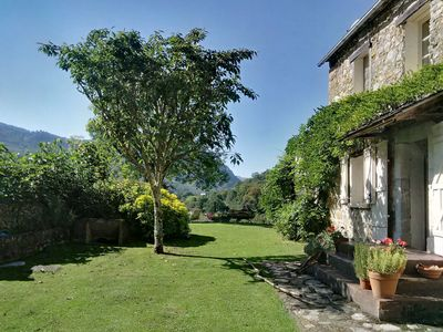 Photo for Pyrenean Farmhouse in own fields and woods