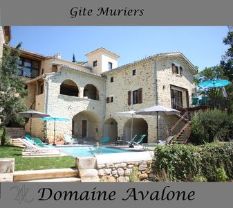 Photo for MURIERS- SPLENDID COTTAGE IN STONE IN THE CENTER OF VALLON PONT D'ARC